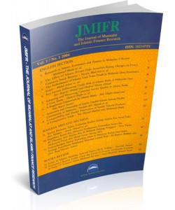 THE JOURNAL OF MUAMALAT AND ISLAMIC FINANCE RESEARCH