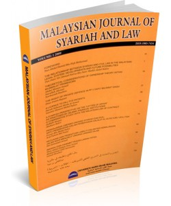 MALAYSIAN JOURNAL OF SYARIAH AND LAW - VOL.1 (MJSL)