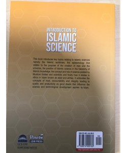 INTRODUCTION TO ISLAMIC SCIENCES