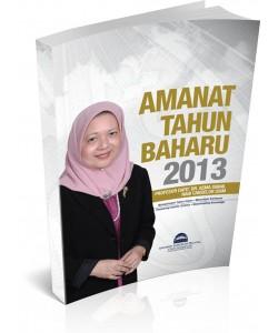 AMANAT TAHUN BAHARU 2013