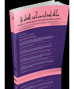 JURNAL PENGURUSAN DAN PENYELIDIKAN FATWA VOL. 8 (EDISI KHAS)