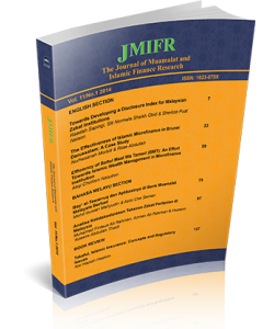 THE JOURNAL OF MUAMALAT AND ISLAMIC FINANCE RESEARCH - VOL. 11