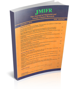 THE JOURNAL OF MUAMALAT AND ISLAMIC FINANCE RESEARCH - VOL. 9