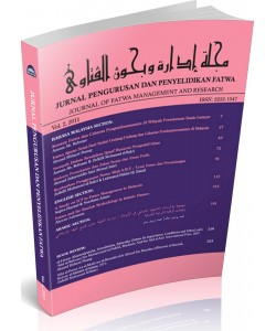 JURNAL PENGURUSAN DAN PENYELIDIKAN FATWA - VOL 2