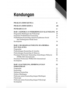 PENGENALAN KEPADA PROFESION KAUNSELING (EDISI KETIGA)