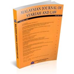 MALAYSIAN JOURNAL OF SYARIAH AND LAW - VOL.1 (MJSL)